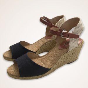 Lucky Brand Kyndra Espadrille Wedge Sandals